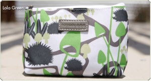 Namaste Small Pouch in Lola Green