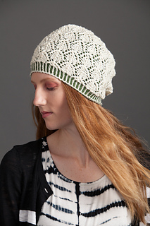 Frosted Pines Hat in Spud and Chloe Fine