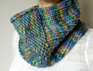 Aujourd'hui Cowl by Tante Ehm
