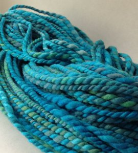Spincycle Organic Polwarth - Tangled Up in Blue