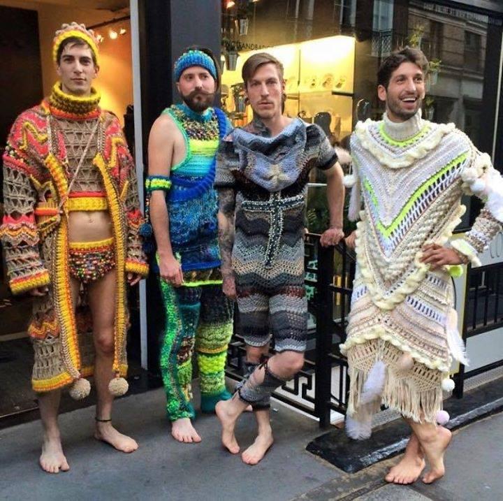 facebookmen's crochet